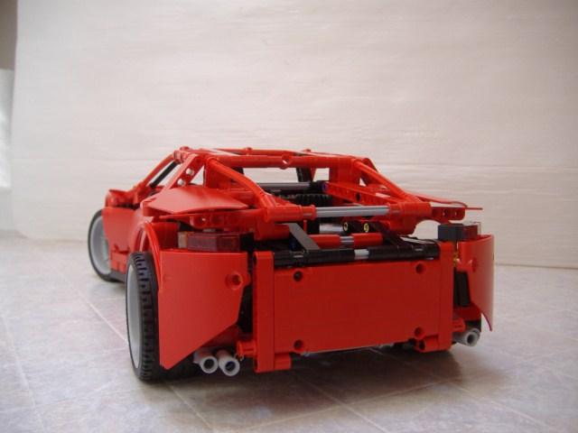 8070 Convertible Instructions Lego Technic Mindstorms Model
