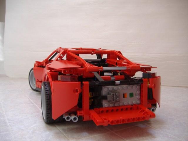 Лего техник 8070 инструкция