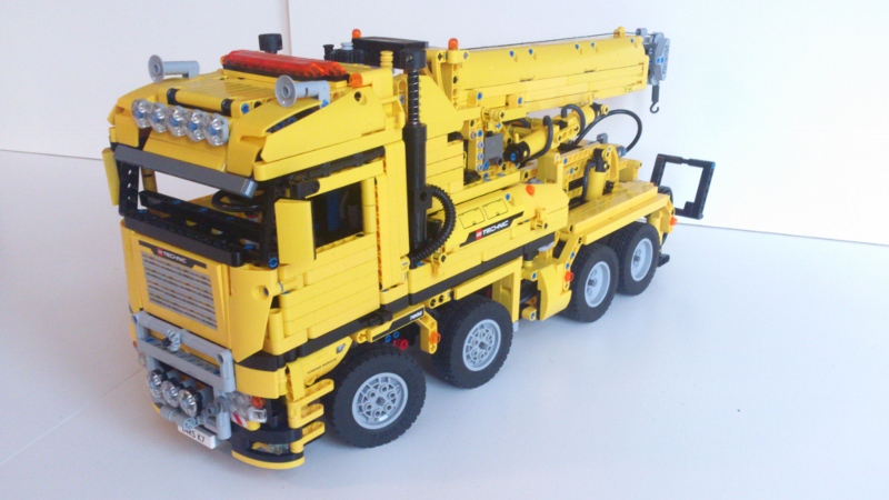 MOC] Pneumatic Tow Truck/Recovery Vehicle - LEGO Technic, Mindstorms ...