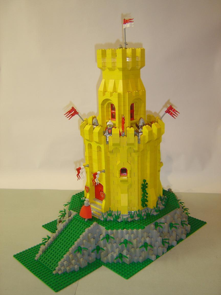 hilltop tower - lego historic themes - eurobricks forums
