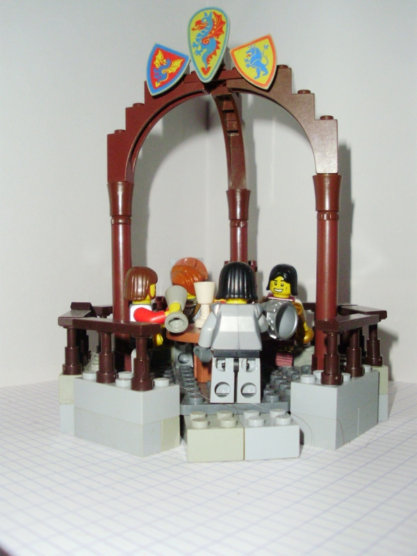 Classic view topic cccxi round table - Knights of the round table lego ...