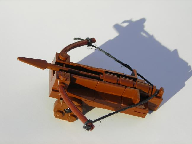 The gallery for --> Lego Medieval Siege Weapons