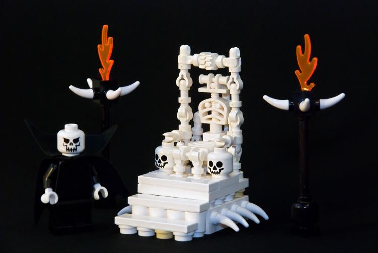 Как сделать трон из лего