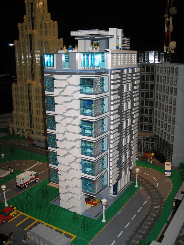 Plan Ville Lego Batman