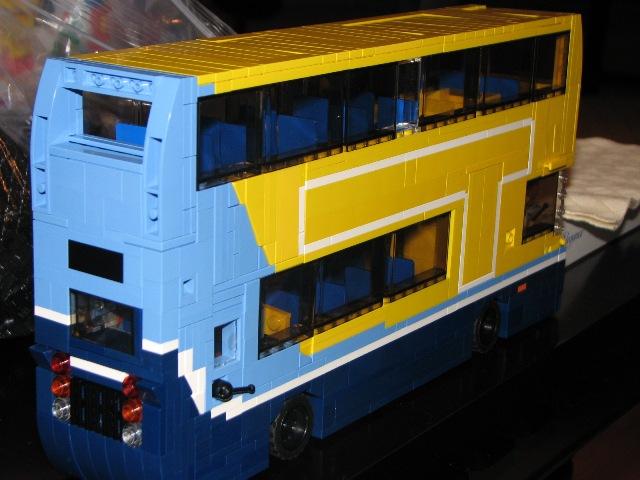 Dublin Bus AX - Made from Lego! - IRISH ROAD PASSENGER