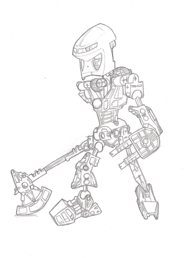 monsters inc coloring pages bionicle