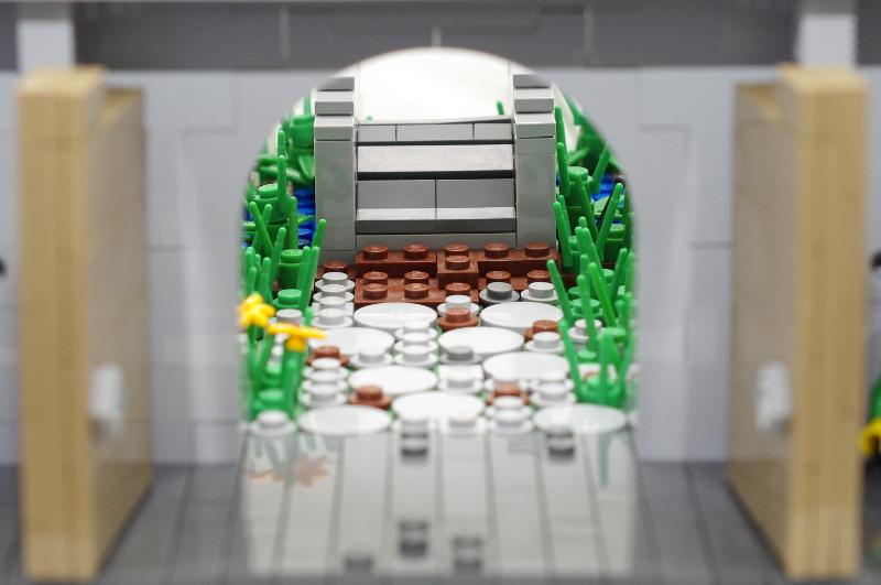 MOC: Castle Wall 04