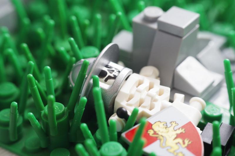 MOC: Castle Wall 06