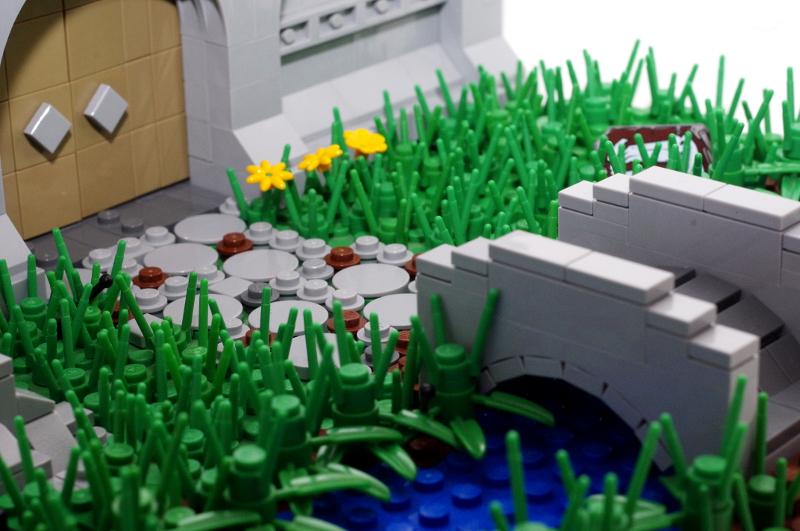 MOC: Castle Wall 10