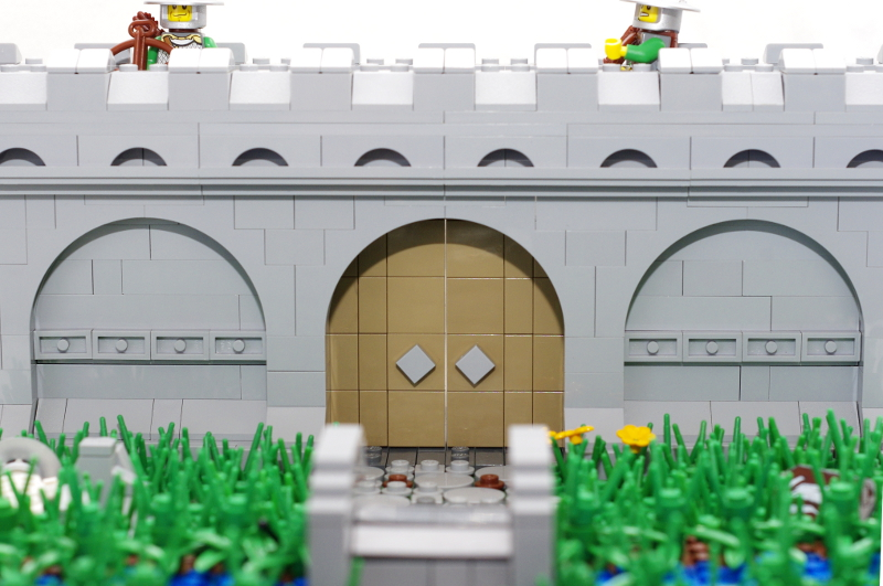 MOC: Castle Wall 11
