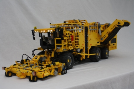 moc ropa eurotiger 8v 4 xl sugarbeet harvester lego. Black Bedroom Furniture Sets. Home Design Ideas