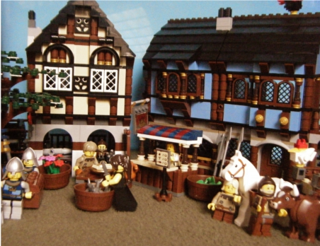 Grandfather's Tales: 10193 Medieval Market Village