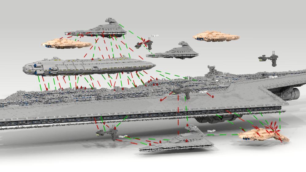 Super Star Destroyer Size Comparison - Pics about space