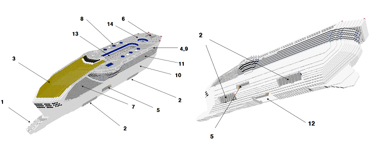 Parts Of Cruise Ship Submited Images