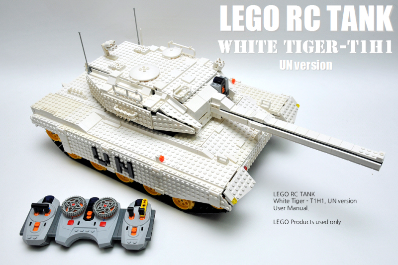 TechnicBRICKs: Week TechVideo, 2011 #07 - White Tiger, T1H1
