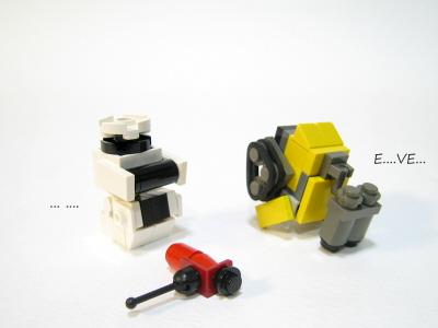 Mini Wall E And His Friends A Lego 174 Creation By Gyuta K