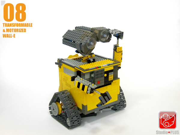 Transformable Wall E Lego Technic And Model Team Eurobricks Forums