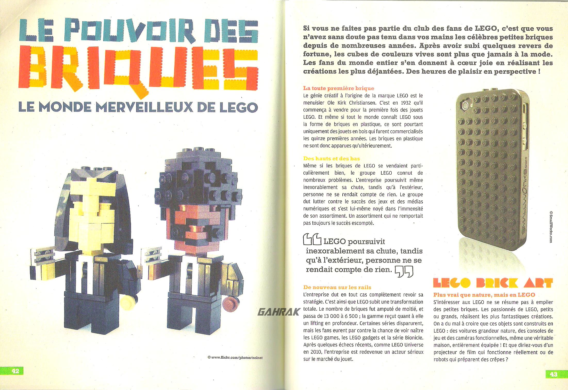 [Blog] Article sur LEGO dans le magazine MINE Lego_-_1-2