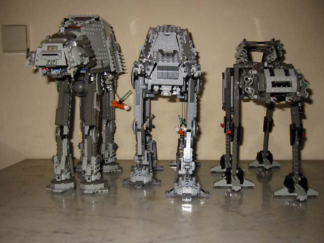 The 4483 definitely looks best, especially from the front. The two moving AT-ATs have their legs much too far apart (for stability obviously).