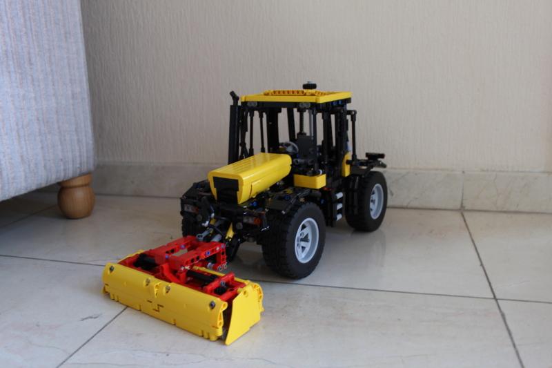 tracteur fastrac de chez jcb