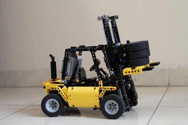 Forklift Lego Technic Mindstorms Model Team Eurobricks Forums