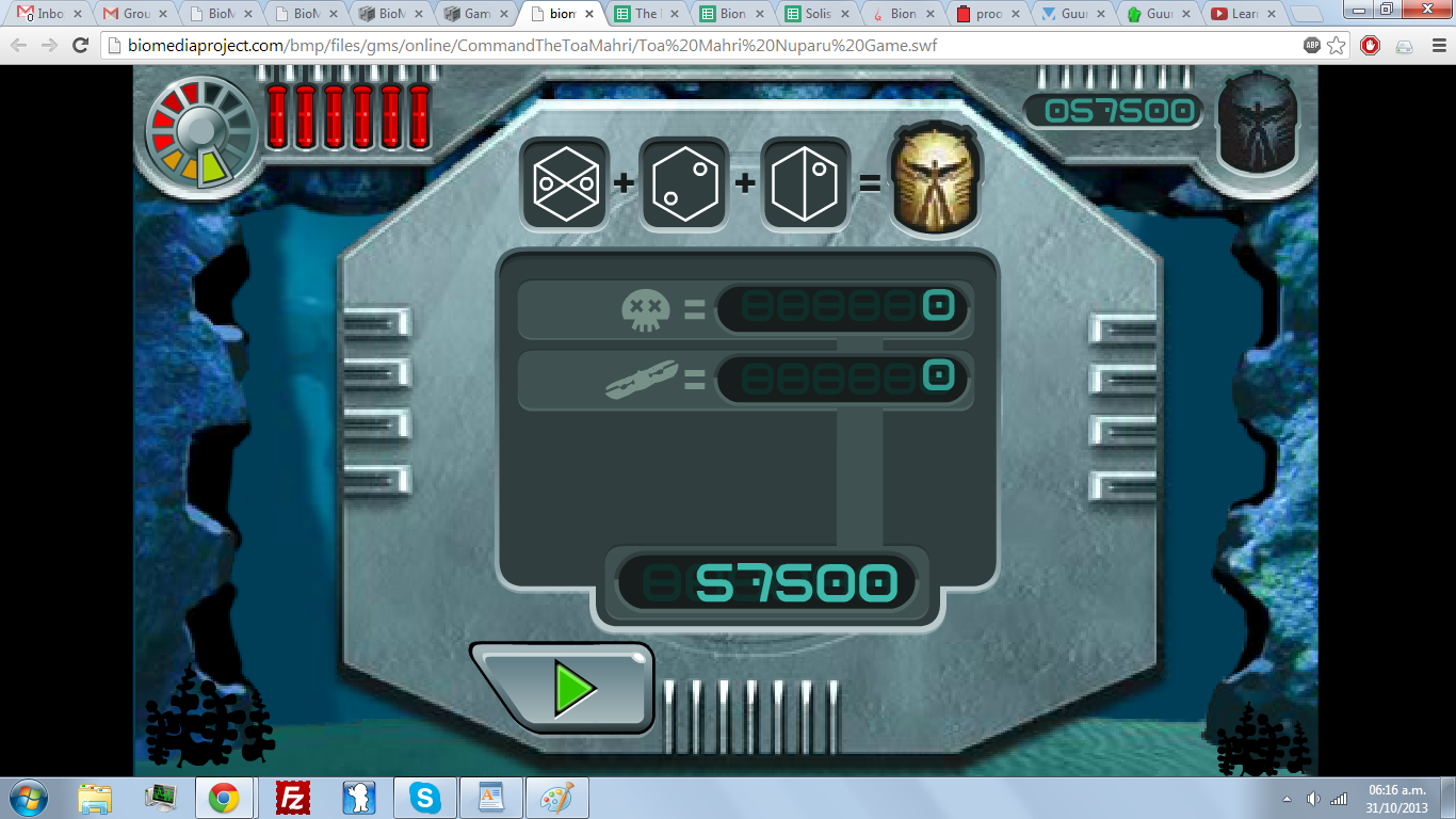 biomedia project and project brick view topic bionicle game