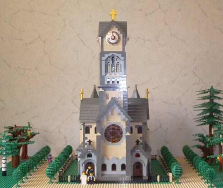 Luther-Kirche aus LEGO®