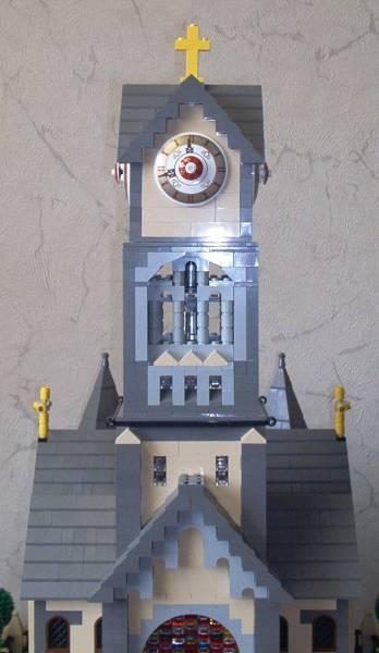 Luther-Kirche Glockenturm aus LEGO®