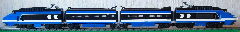 Blue TGV