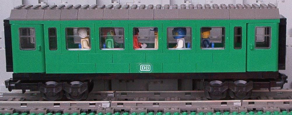 grüner Wagen