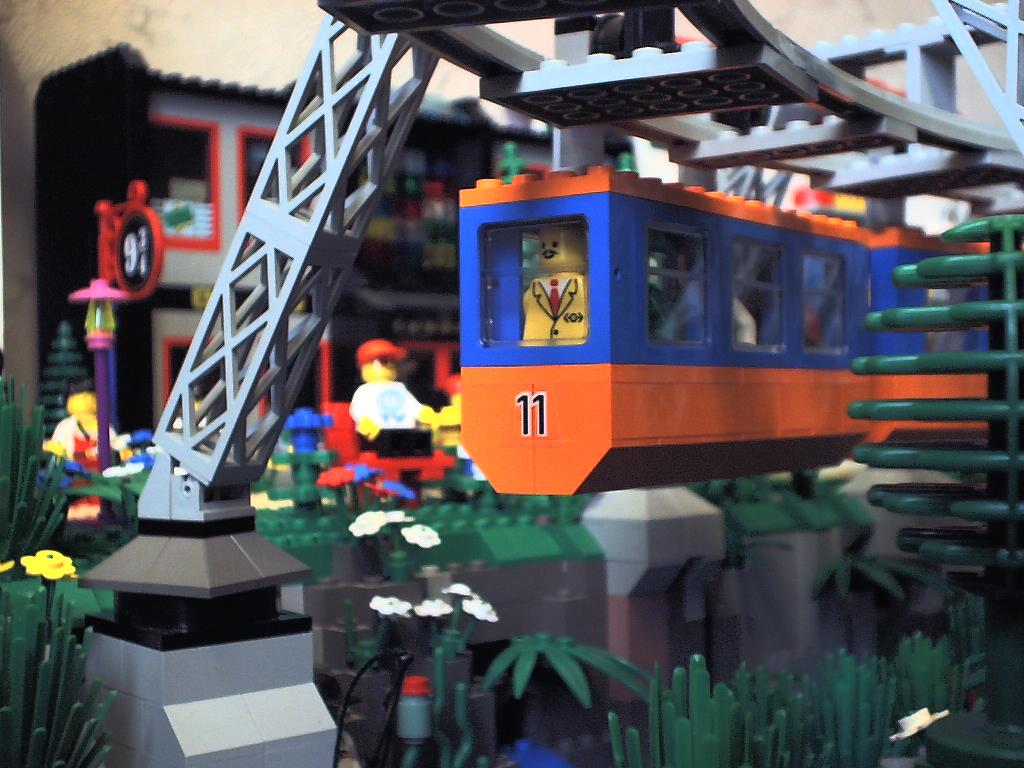 Wuppertaler Schwebebahn - LEGO