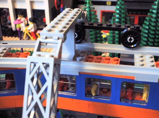 Wuppertaler SChwebebehn - LEGO