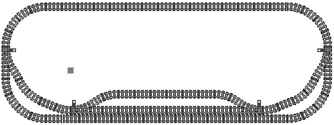 Lego 174 Track Design Lego 174 Schienenlayout