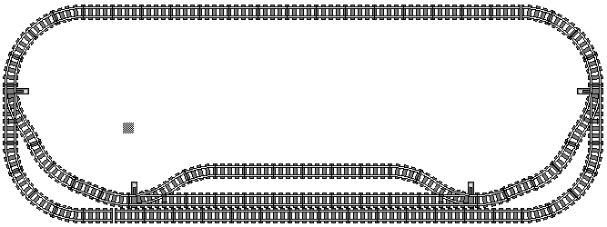 Modellbahn Layout 1