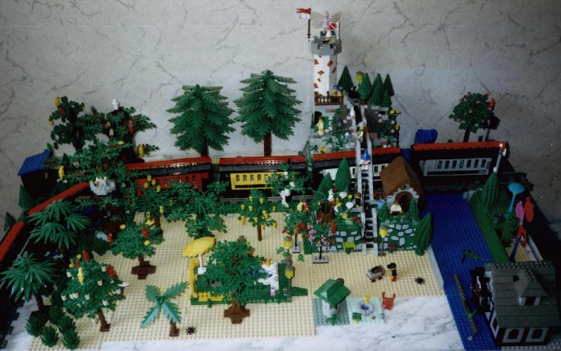 modellbahn wald