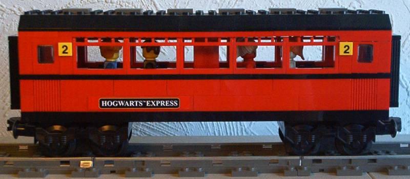 hogwards express coach LEGO