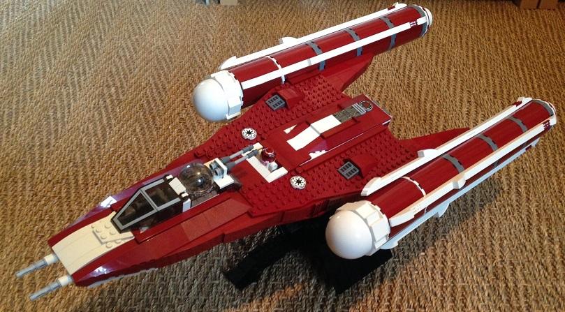 MOC UCS Y-Wing (10134) Clone Wars Era - WIP - LEGO Star Wars ...