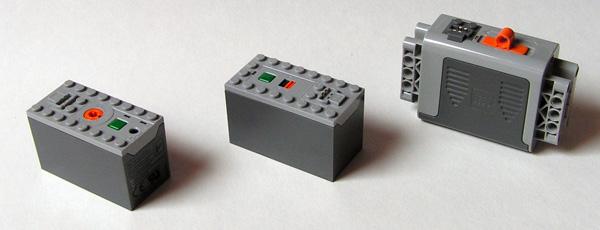 Boitier pile lego 88000