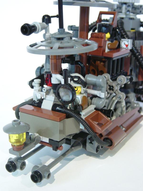 Lego Steampunk Train Lovely Little Steampunk Train