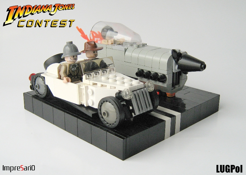 Indy legos page 14 the raven for Jones motor company trucking