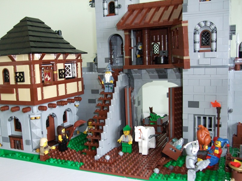 Castle Gatehouse Moc Lego Historic Themes Eurobricks Forums