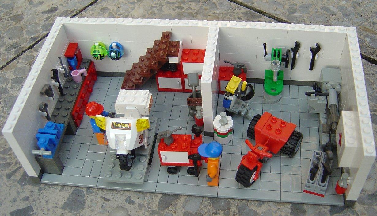 motorradwerkstatt :: lego bei 1000steine.de :: gemeinschaft :: forum