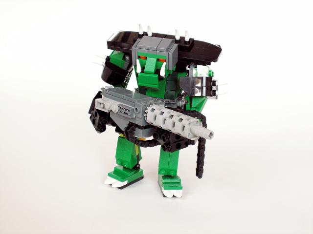 lego green monster truck instructions