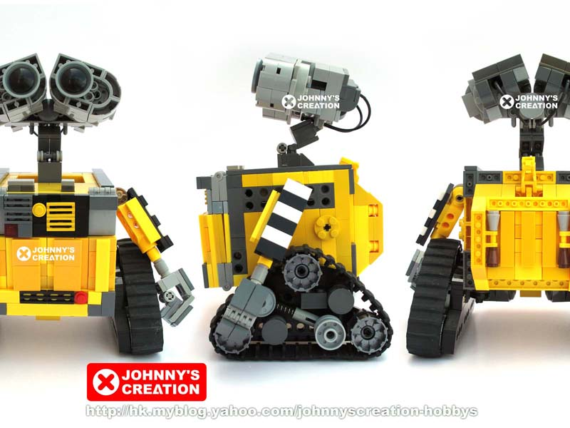 "Johnnytang's Lego ""Wall-E"" Robot Comes In 5 Sizes - LEGO Technic ..."
