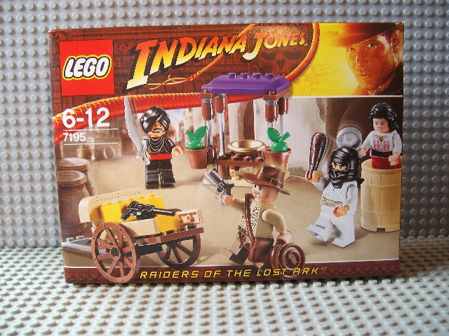 7195 LEGO Indiana Jones Hinterhalt in Kairo günstig kaufen