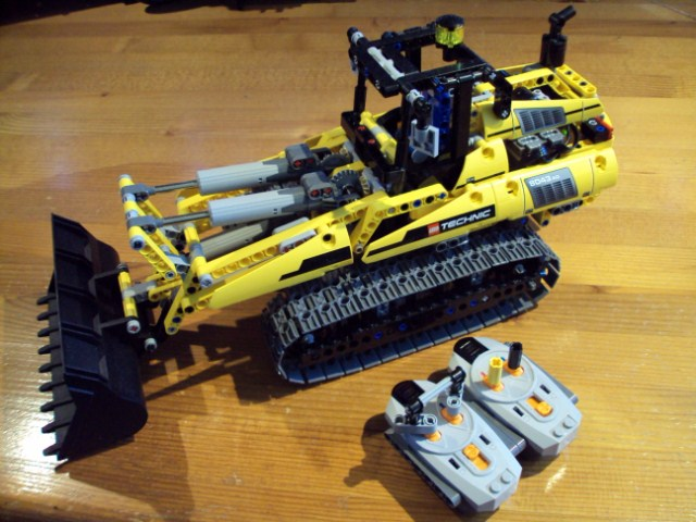 8043 Excavator B Model Modifications Lego Technic Mindstorms
