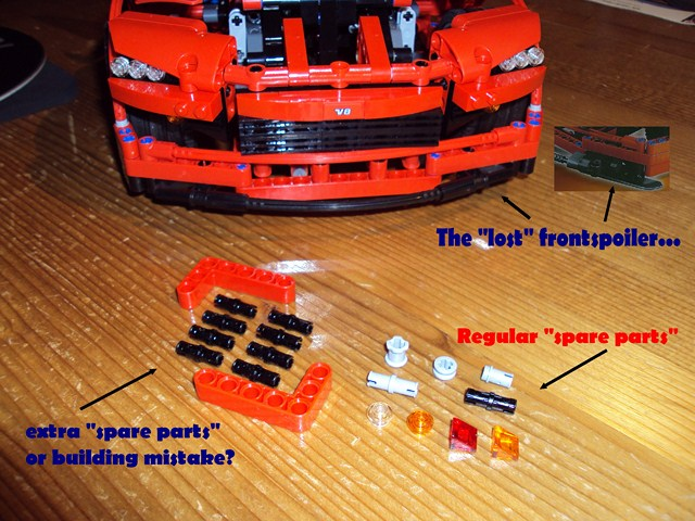 Review 8070 Supercar Lego Technic And Model Team Eurobricks Forums