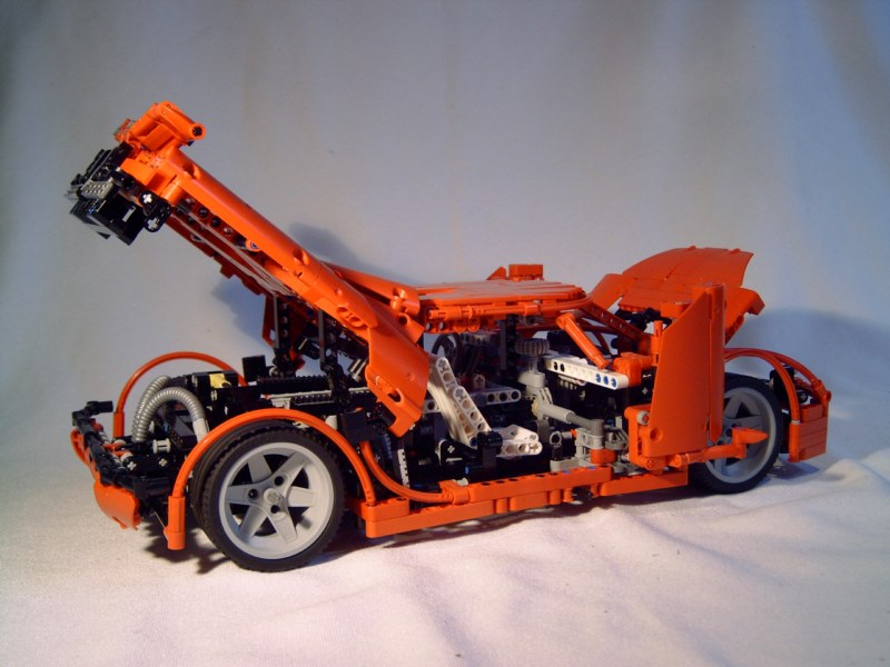 Koenigsegg Supercar With Instructions A Lego Creation By Jurgen