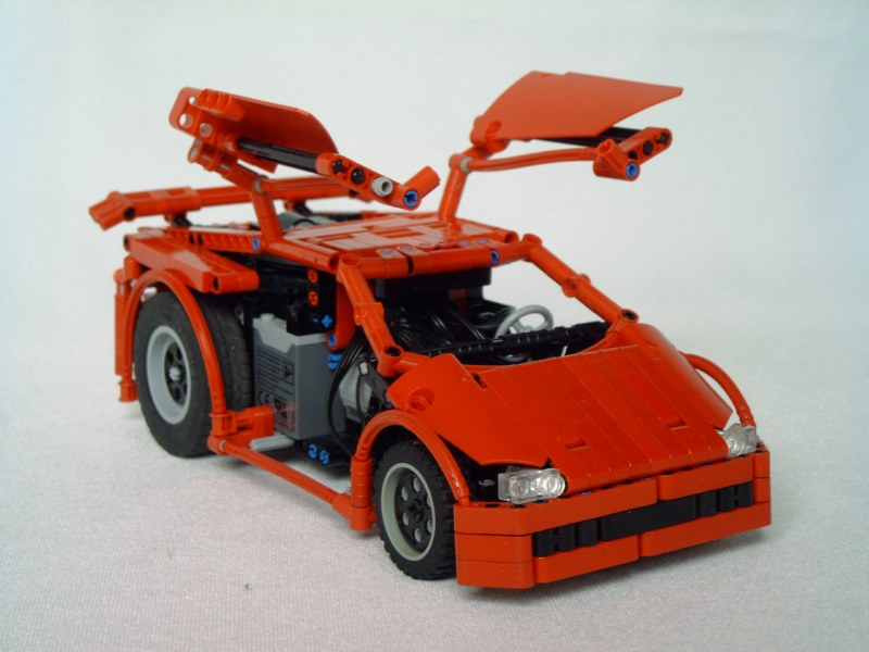 Muscle Cars Instructions Lego Technic And Model Team Eurobricks