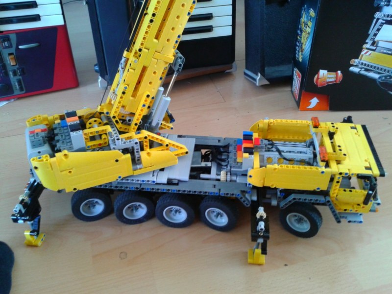 Mod 42009 Mobile Crane Mods And Improvements Lego Technic